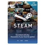STEAM WALLET IDR 45.000 Digital Code - Voucher Games