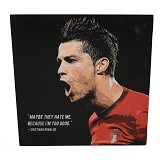 STRIPE PRODUCTS Pop Art Christiano Ronaldo 30cm (V) - Wall Art / Hiasan Dinding