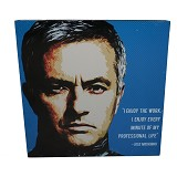 STRIPE PRODUCTS Pop Art Jose Mourinho 30cm (V) - Wall Art / Hiasan Dinding