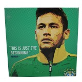 STRIPE PRODUCTS Pop Art Neymar 30cm (V) - Wall Art / Hiasan Dinding
