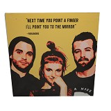 STRIPE PRODUCTS Pop Art Paramore 30cm (V) - Wall Art / Hiasan Dinding