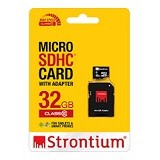 STRONTIUM Micro SDHC 32GB Class 10 With Adapter (Merchant) - Micro Secure Digital / Micro Sd Card