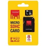 STRONTIUM Micro SDHC 8GB Class 6 With Adapter (Merchant) - Micro Secure Digital / Micro Sd Card