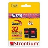 STRONTIUM Micro SDHC Nitro 32GB With Adapter and Card Reader [466X] (Merchant) - Micro Secure Digital / Micro Sd Card