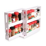 SUGU Swivel Store Box Food Rack (Merchant) - Tempat Bumbu