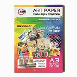 SUN Art Paper A3 100 Gsm - Kertas Foto / Photo Paper