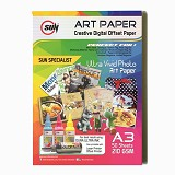 SUN Art Paper A3 210 Gsm - Kertas Foto / Photo Paper