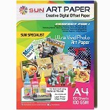 SUN Art Paper A4 100 Gsm - Kertas Foto / Photo Paper