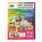 SUN Art Paper F4 210 Gsm - Kertas Foto / Photo Paper