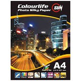 SUN Colourlife Photo Paper Silky  265 Gsm A4 - Kertas Foto / Photo Paper