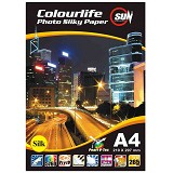 SUN Colourlife Photo Paper Silky  265 Gsm Silk A4 - Kertas Foto / Photo Paper
