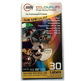 SUN Kertas Colourlife Photo Glossy CD Label - Kertas Foto / Photo Paper