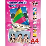 SUN Kertas Photo Glossy Paper 185 Gsm A4