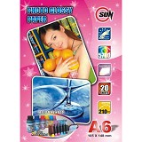 SUN Kertas Photo Glossy Paper 210 Gsm A6 - Kertas Foto / Photo Paper