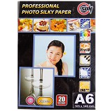 SUN Professional Photo Paper Silky  240 Gsm A6 - Kertas Foto / Photo Paper