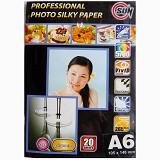 SUN Professional Photo Paper Silky  265 Gsm A6 - Kertas Foto / Photo Paper