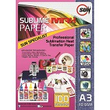 SUN Sublime MAX Paper A3 110 Gsm - Kertas Foto / Photo Paper