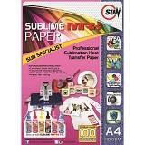 SUN Sublime MAX Paper A4 110 Gsm - Kertas Foto / Photo Paper