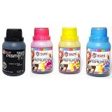 SUN Tinta Canon Premium Ink NFI CMY+Black Pigment 100 ml - Set 4 warna - Tinta Printer Refill