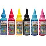 SUN Tinta Epson Pigment PRO INK 100 ml - Set 6 Warna - Tinta Printer Refill