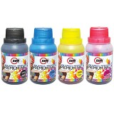 SUN Tinta Epson Premium Ink NFI 100 ml - Set 4 Warna - Tinta Printer Refill
