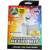 SUN Tinta Refill Kit Canon - Black - Tinta Printer Refill