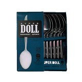 SUPER DOLL Stainless Steel 6Pcs
