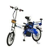 SUPER RIDER Sepeda Listrik [TL SR JUPITER] - Blue - Sepeda Listrik