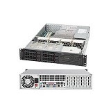 SUPERMICRO 2U Super Chassis [CSE-823TQ-653LPB 2U] - Black - Server Option Blade Enclosure