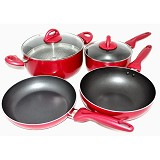 SUPRA Rosemary Premium Collection 7 Pcs Cookware Set [PMCS7] - Panci Set