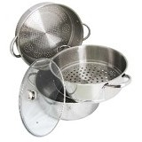 SUPRA Super Steamer 3 36cm + Glass Lid - Steamer