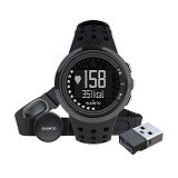 SUUNTO Unisex M5 HRM Watch + Movestick Mini Pack [SM2BY-C4] - Black (Merchant) - Gps & Running Watches