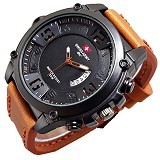 SWISS ARMY Jam Tangan Monster For Man - Soft Brown (Merchant) - Jam Tangan Pria Fashion