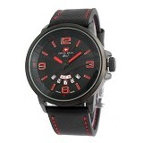 SWISS ARMY Watch [SA1128] - Black/Red - Jam Tangan Pria Casual
