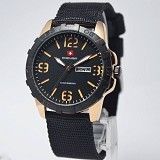 SWISS ARMY Watch [SA1179] - Black Rose Gold - Jam Tangan Pria Casual