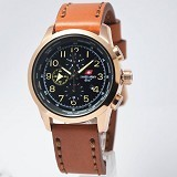 SWISS ARMY Watch[SA2202]-Brown/RoseGold - Jam Tangan Pria Casual