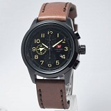 SWISS ARMY Watch[SA2202]-DarkBrown/Black - Jam Tangan Pria Casual