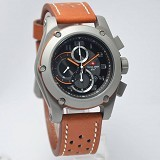 SWISS ARMY Watch [SA2205] - Brown/Silver - Jam Tangan Pria Casual