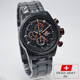 SWISS ARMY Watch [SA2212] - Black - Jam Tangan Pria Casual