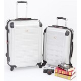SWISS Military Trolley Case - Silver - Koper