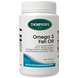 THOMPSONs Premium Fish Oil Omega 3 1000mg - Suplement Pencegah Penyakit Jantung / Kolesterol