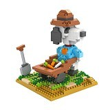 LOZ Gift Large 9526 Farming Snoopy [305002282]