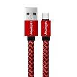 Sailsway Type-C Transformer Quick Cable 100CM [SWL09] - Red (Merchant) - Cable / Connector Usb