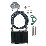 TAD Oil Cooler Cool - Black (Merchant) - Sparepart Mesin Motor