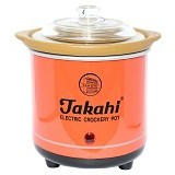 TAKAHI Slow Cooker 0.7L [BZ-607] - Red - Rice Cooker