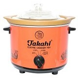 TAKAHI Slow Cooker 1.2L [BZ-608] - Red - Rice Cooker