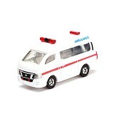 TAKARA TOMY Tomica Nissan NV350 Caravan Ambulance [T4904810471066] - Die Cast