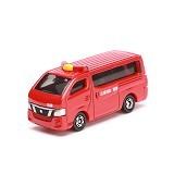 TAKARA TOMY Tomica Nissan NV350 Caravan Fire Chieft Car [T4904810467489] - Die Cast