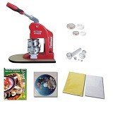 TALENT Paket Mesin Press Pin Deluxe - Mesin Laminating Dingin
