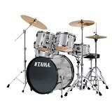 TAMA Swingstar 5pcs Rock Drum Kit [S52KH6] - Silver Stream - Drum Kit